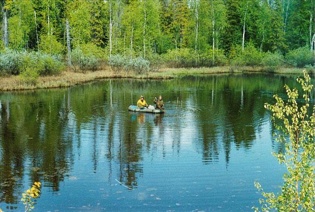рыбалка палецкого озера
