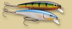 Воблер Rapala Long Cast Minnow