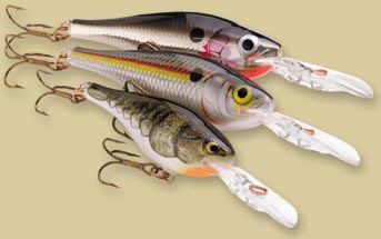 Воблер Rapala Shad Rap RS